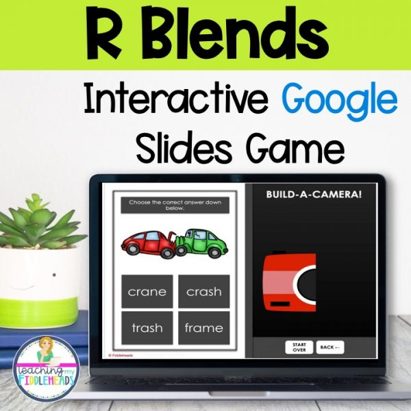 R Blends Game on Google Slides™ Phonics Activities