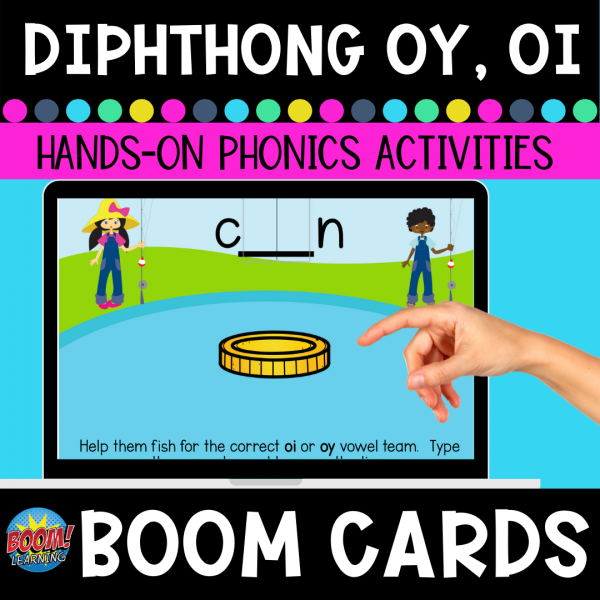 Diphthong oy oi Boom Cards